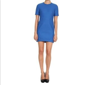 Tibi Bonded Techy Twill S/S Dress